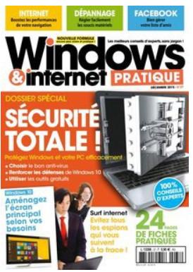 Windows & Internet Pratique Décembre 2015