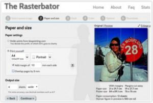 Rasterbator net