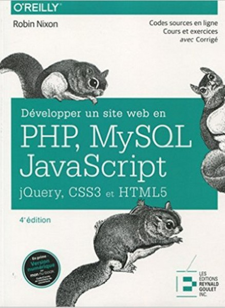 Développer un site web en PHP, MySQL et Javascript