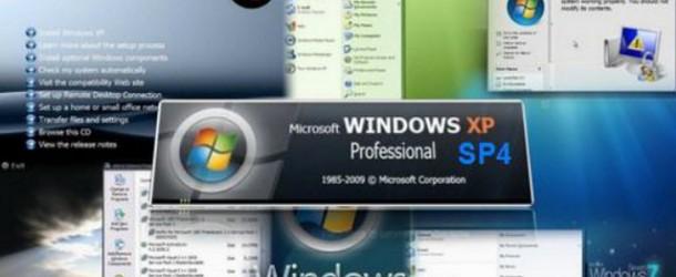 Windows XP Pro 32Bits SP4 FR -Pré Activé