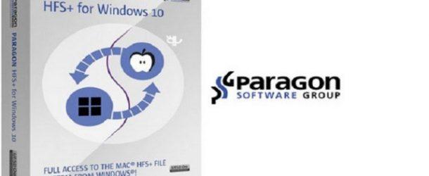 Paragon HFS+ 10.5.0.95 pour Windows