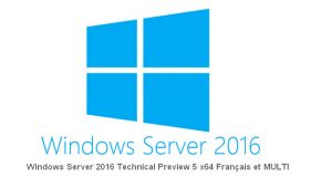 Windows Server 2016 Technical Preview 5 (x64)