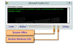 Microsoft toolkit 2.6 Bêta 5