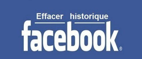 Effacer l'historique de recherche sur Facebook