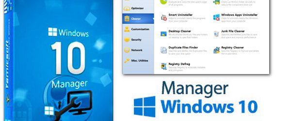 Yamicsoft Windows 10 Manager V1.1.8 Portable
