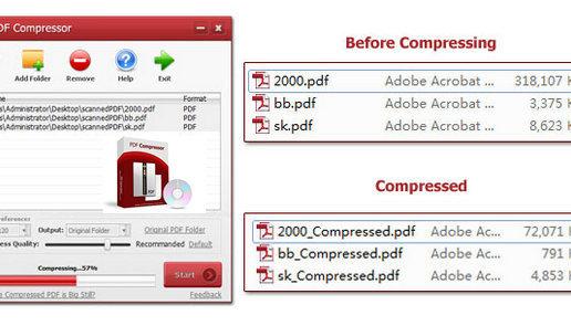 PDFZilla Compressor Pro V3