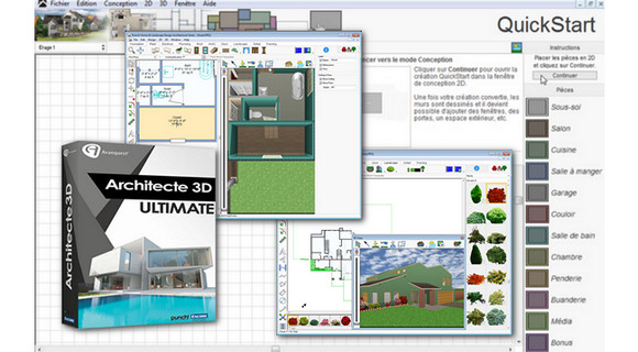 Architecte 3d ultimate 2017 v19 trucnet for Architecte 3d 2011 ultimate