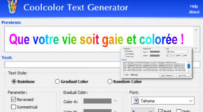 CoolColor Text Generator v1.0 Portable