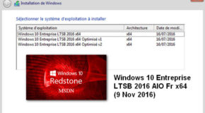 Windows 10 Entreprise LTSB AIO x64 (9 Nov 2016)