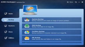 AOMEI Backupper Technician Plus 4.0.2 + Portable