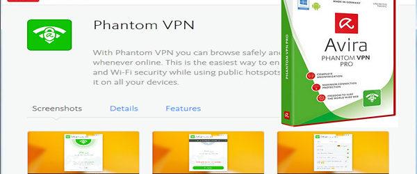Avira Phantom VPN Pro 2.2.1.20599