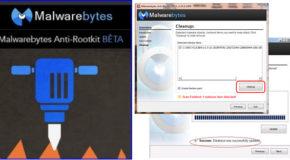 Malwarebytes Anti-Rootkit Beta 1.9.3.1001