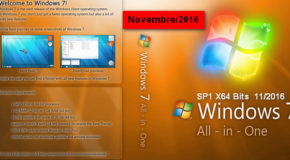 Windows 7 SP1 AIO x64 Novembre 2016