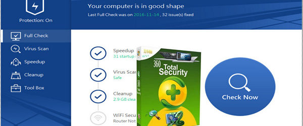 360 Total Security V9.0.0.1085