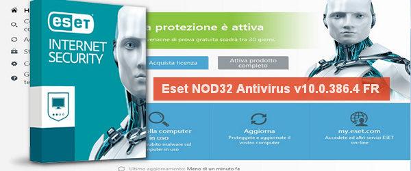 Eset NOD32 Antivirus v10.0.386.4