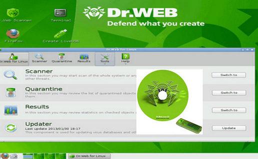 Dr.Web LiveDisk USB 9.0.0