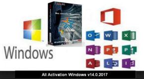 All Activation Windows v14.0.2017