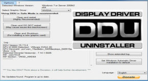 Display Driver Uninstaller 17.0.6.2 Portable