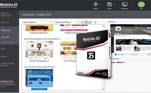 Incomedia WebSite X5 Professional 13.1.2.10
