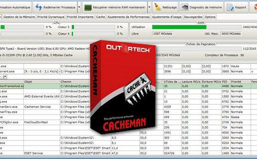 Outertech Cacheman 10.10.0.11 + Portable