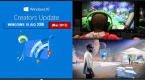 Windows 10 AIO v1703 x86 (Mai 2017) Creators Up