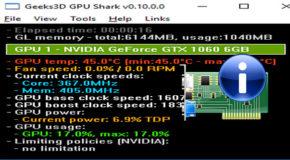 GPU Shark 0.10.0.1 Portable