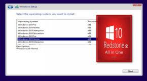 Windows 10 v1703 B15063 AIO RedStone 2 – Aout 2017