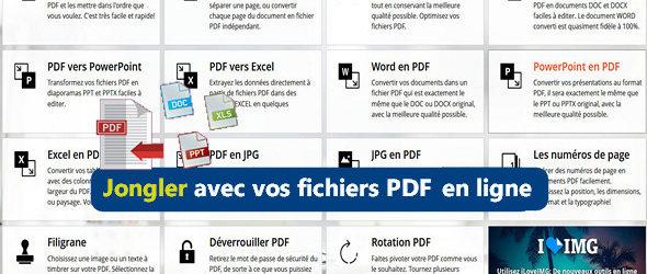 Des outils PDF en ligne totalement gratuits