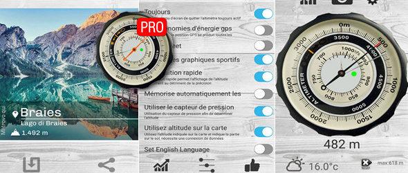 Altimetro – altimeter PRO v3.3