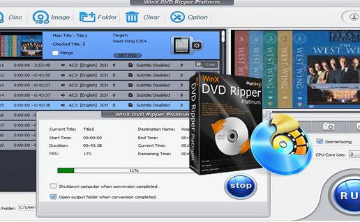 WinX DVD Ripper Platinum 8.6.0.207 Build 17.10