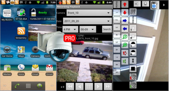 how to setup ip cam viewer pro