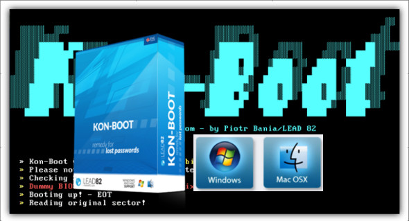 Kon-Boot 2.5 2In1 For Windows And Mac Osx | Peatix