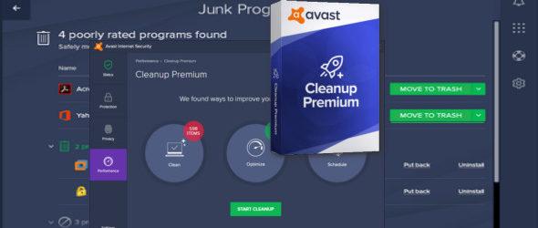 Avast Cleanup Premium 2018 v18.1.5172