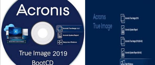 Acronis True Image 2019 Build 13660 Bootable ISO