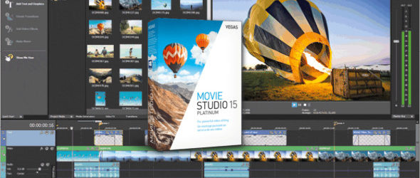 MAGIX VEGAS Movie Studio Platinum 15.0.0.146