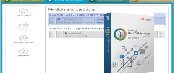 Paragon Hard Disk Manager Advanced 16.23.1