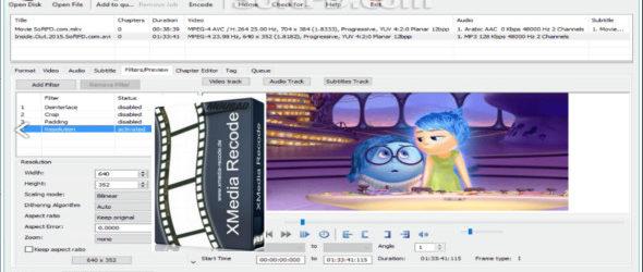 XMedia Recode 3.4.4.0 + Portable