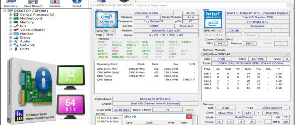 HWiNFO 5.90 Build 3550 + Portable
