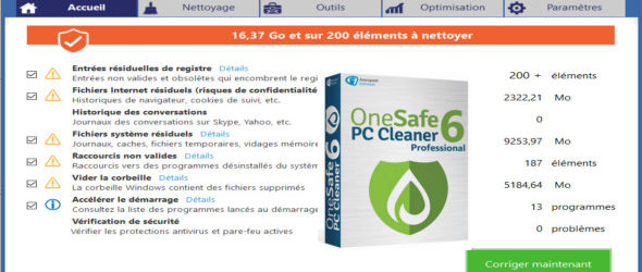 OneSafe PC Cleaner Pro 6.6.0