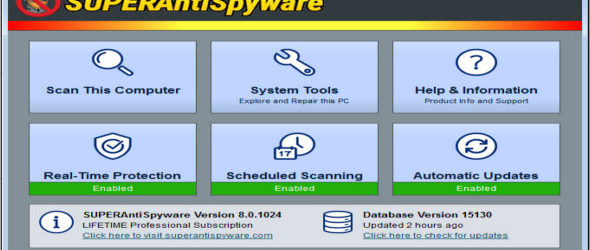 SUPERAntiSpyware Professional 8.0.1024