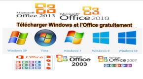 Télécharger Windows et l'Office gratuitement