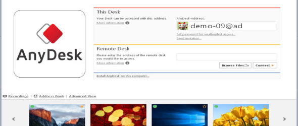 AnyDesk 4.3 Portable