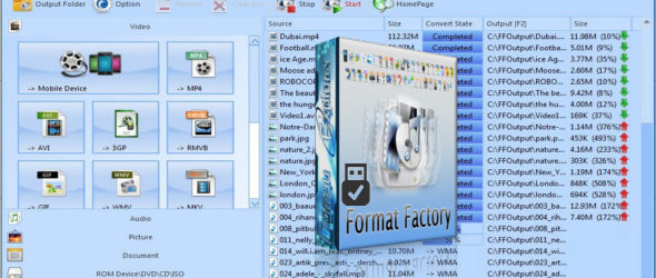 Format Factory 4.5.0.0 Portable