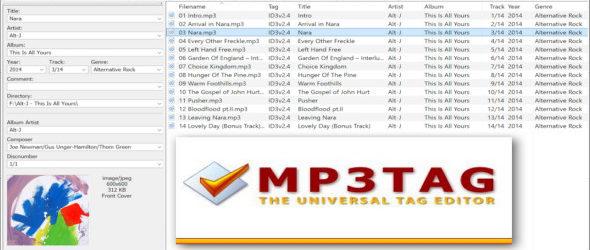 Mp3tag 2.91 + Portable