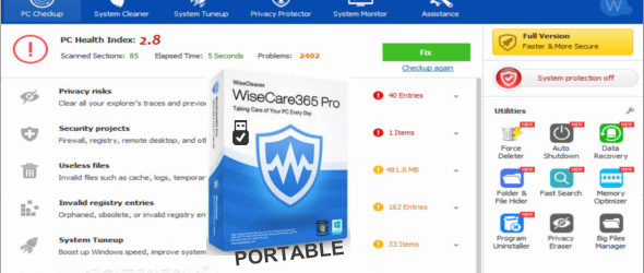 Wise Care 365 Pro 5.2.2.517 Portable