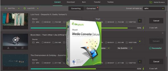 iSkysoft iMedia Converter Deluxe 10.4.1.184