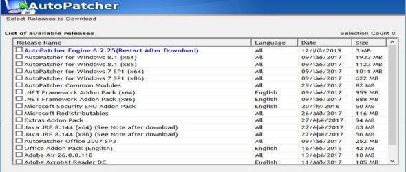 AutoPatcher Updater 6.2.26 Portable