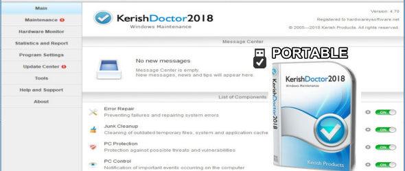Kerish Doctor 2018 4.70 + Portable