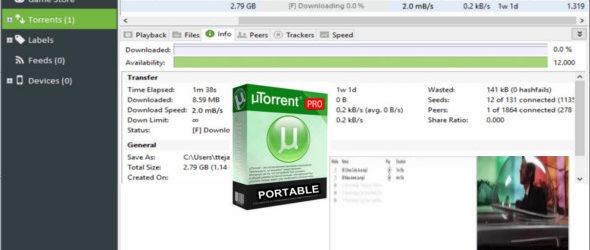 uTorrent Pro 3.5.5 Build 44994 + Portable