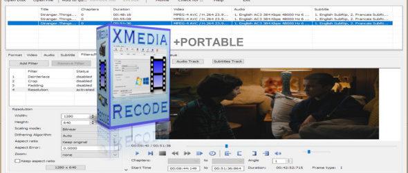 XMedia Recode 3.4.5.2 + Portable
